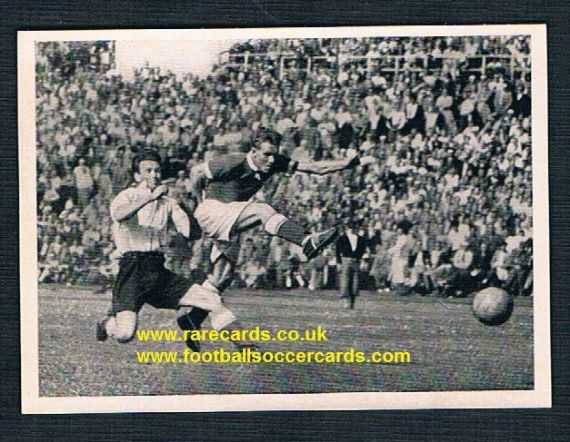 1952 Kosmos Willie Hastie Queen's Park GBXI  W.Germany match 18May1952 Gala Fairydean Rovers